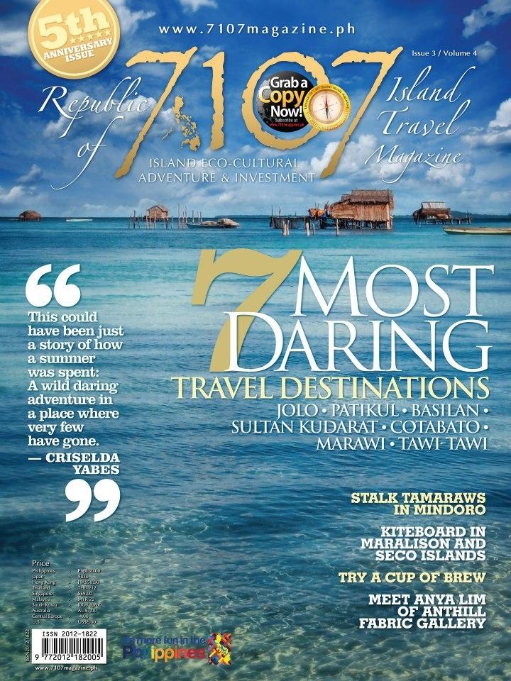 7107 Islands Mag Cover by Jojie Alcantara