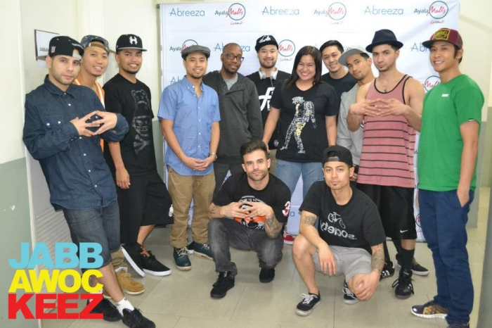 Meet and greet with Jabbawockeez and Super Crew