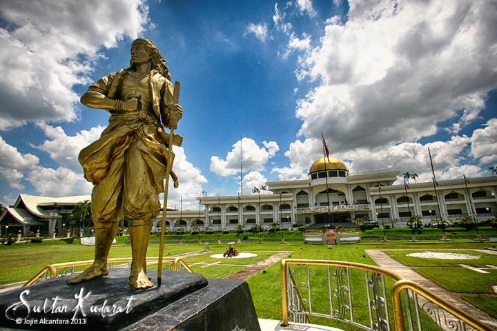 Sultan Kudarat Capitol Building by Jojie Alcantara
