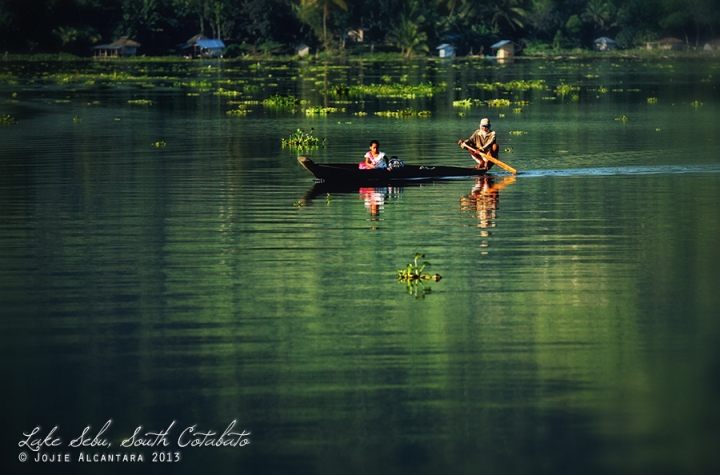 Fishing village, Lake Sebu  © Jojie Alcantara
