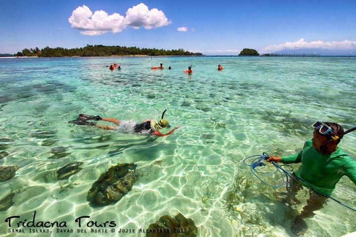 Tridacna Tours, Samal  © Jojie Alcantara