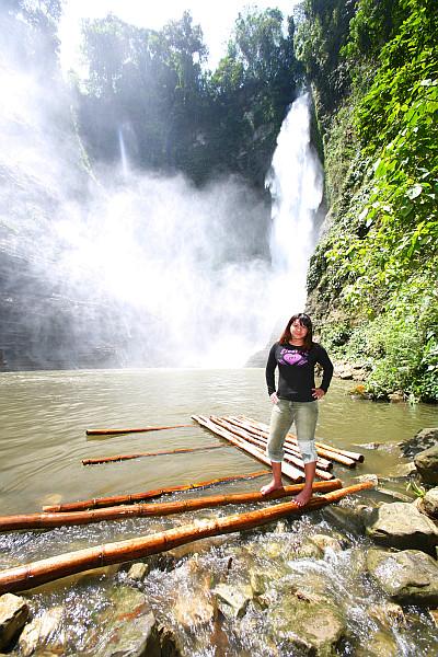 Jojie in Lake Sebu Falls Number 2