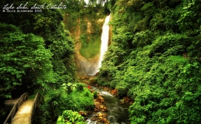Lake Sebu falls by Jojie Alcantara s