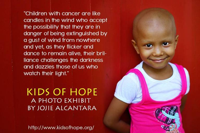 Jojie Alcantara Photo Exhibit for Kids of Hope Foundation