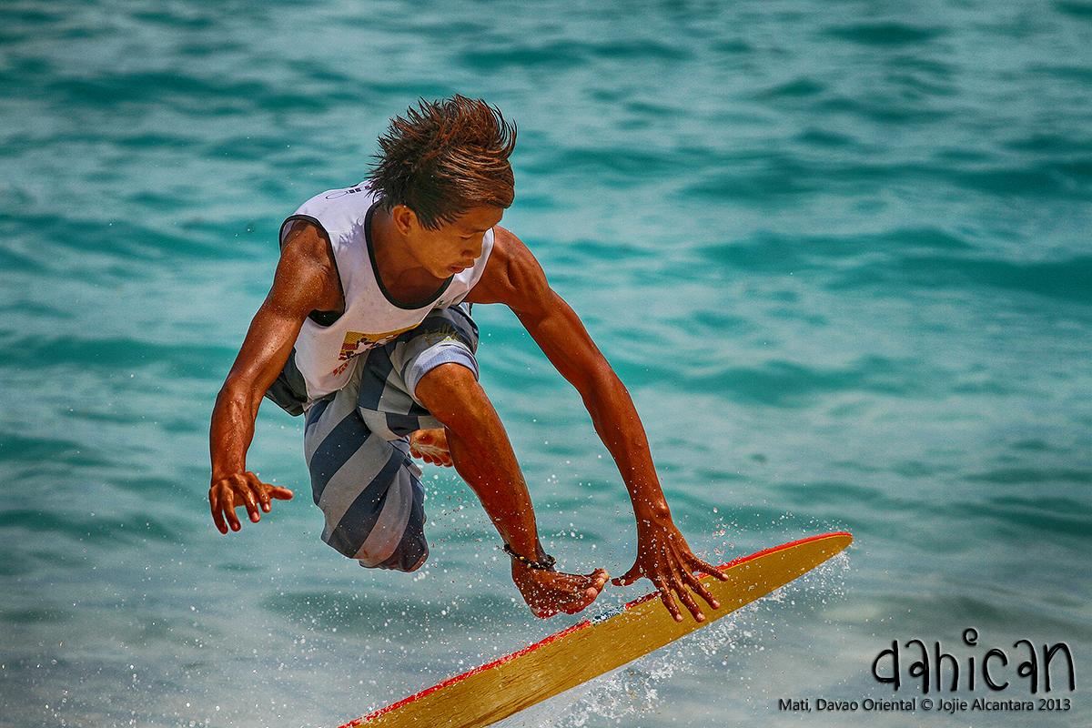 Skimboarder Dahican beach, Mati, Davao Oriental © Jojie Alcantara 2013