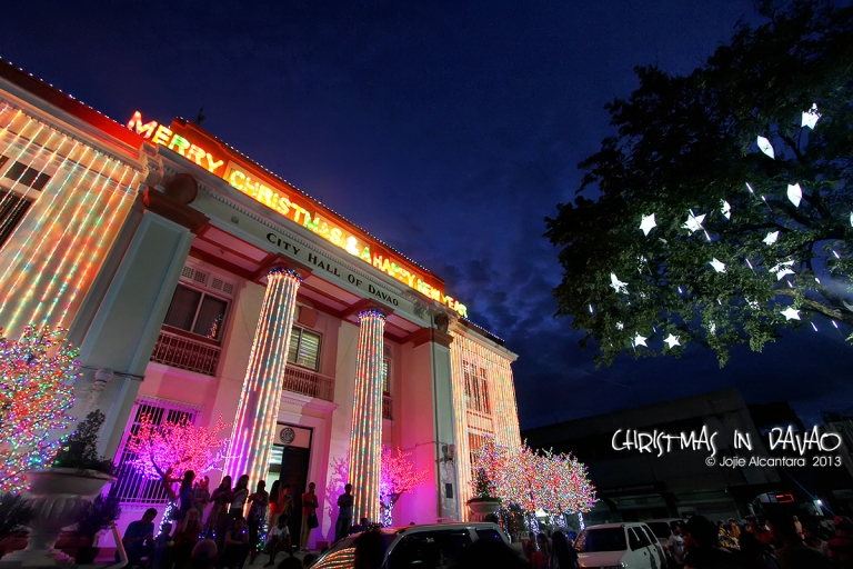 Davao City Hall at Christmas   © Jojie Alcantara