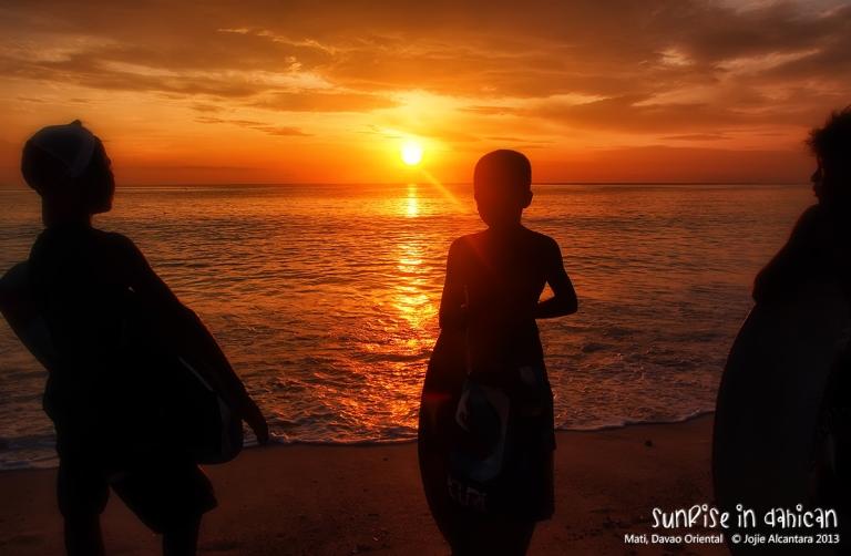Sunrise in Dahican  © Jojie Alcantara 2013