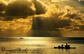 Dinagat Islands sunset