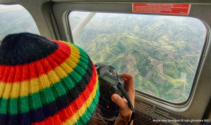 Jojie Alcantara loves aerial photography