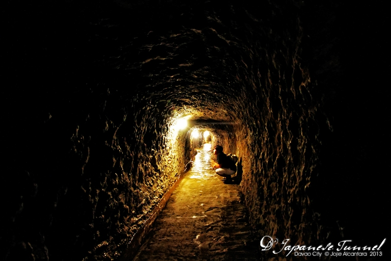 D' Japanese Tunnel in Davao © Jojie Alcantara