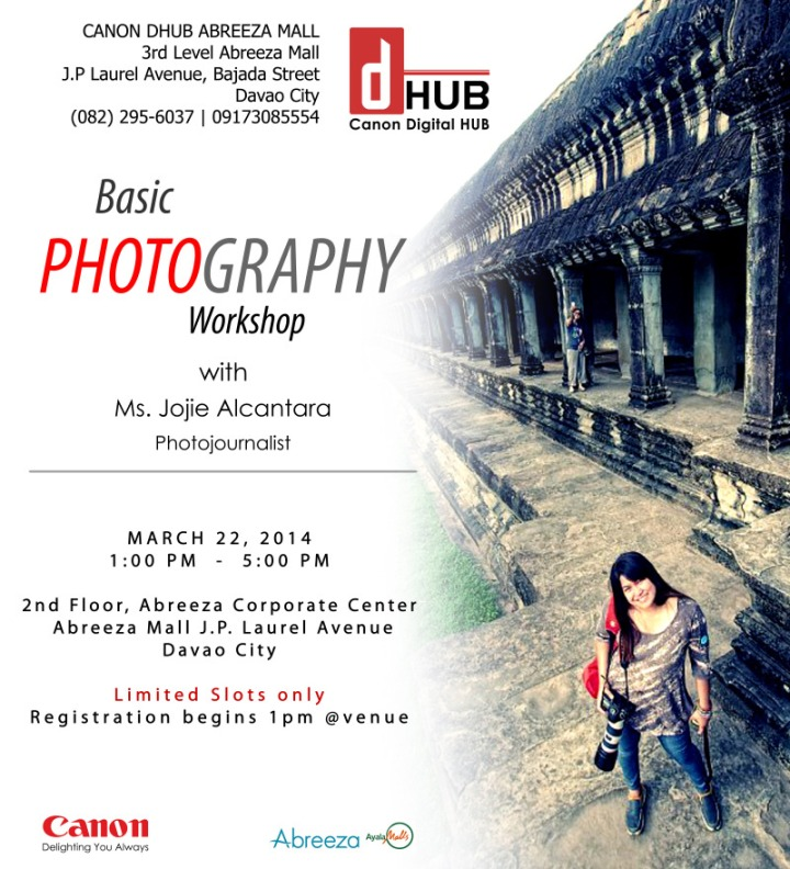 Basic Photography Workshop by Jojie Alcantara for Canon