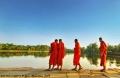 Monks in Angkor Wat, Cambodia © Jojie Alcantara