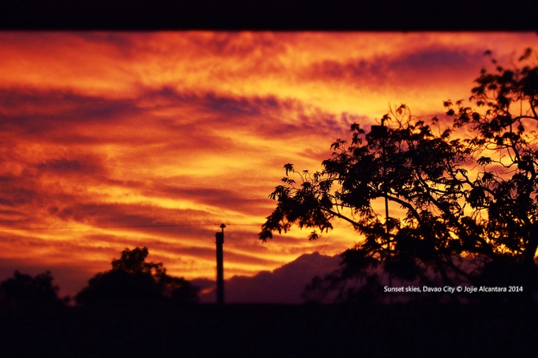 Sunset, Davao City  © Jojie Alcantara 2014