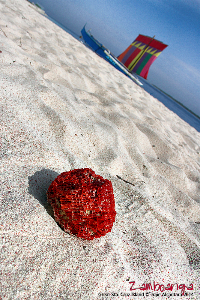 Pink Sand Beach, Great Sta. Cruz Island, Zamboanga City © Jojie Alcantara