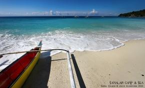 Samalan Camp and Sea by Jojie Alcantara