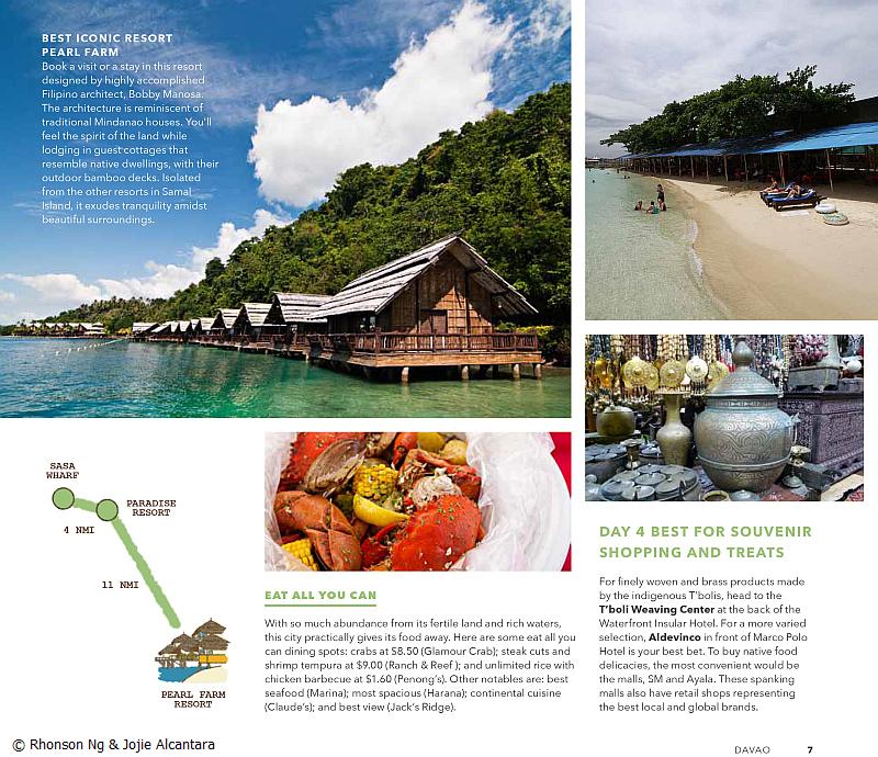 Page 3 of Davao Region photos by Rhonson Ng and Jojie Alcantara