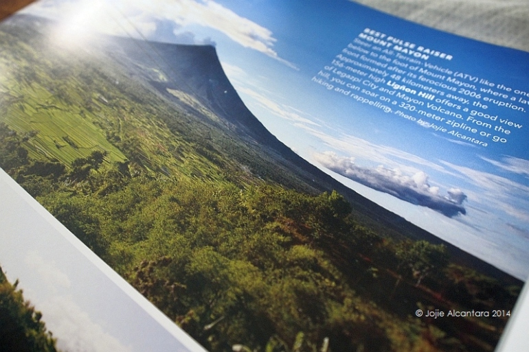 Mount Mayon on Best of the Best Philippines Coffee Table Book © Jojie Alcantara