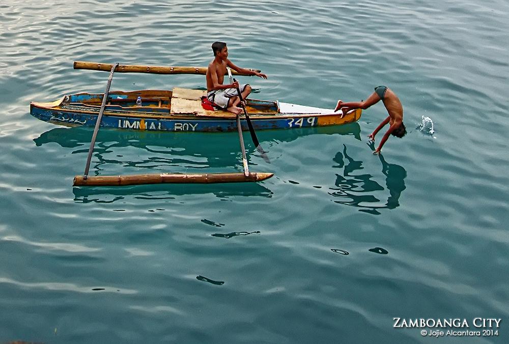 Badjao kids of Zamboanga