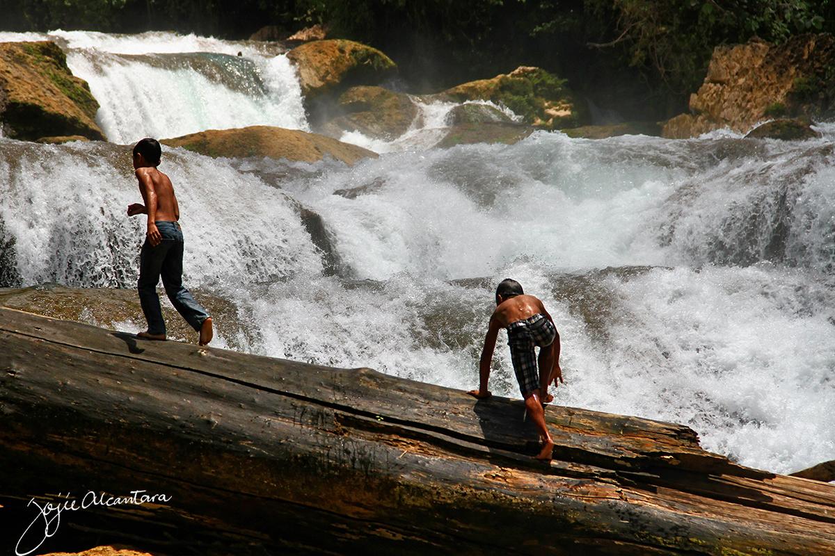 Aliwagwag Falls Cateel by Jojie Alcantara