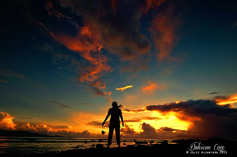 Selfie at sunrise, Dahican © Jojie Alcantara