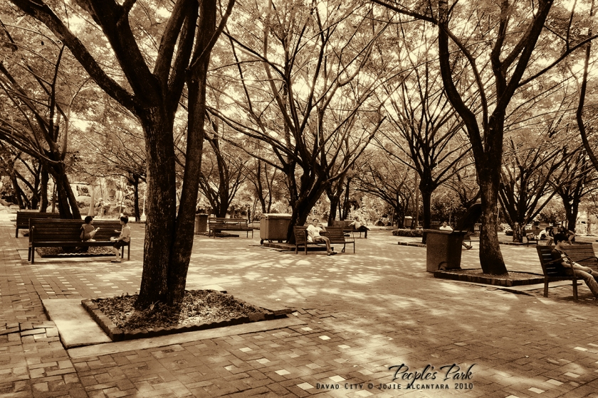 Peoples Park Davao by Jojie Alcantara