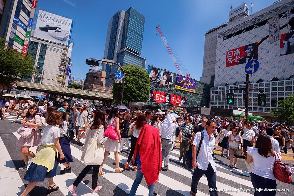 Shibuya Crossing © Jojie Alcantara