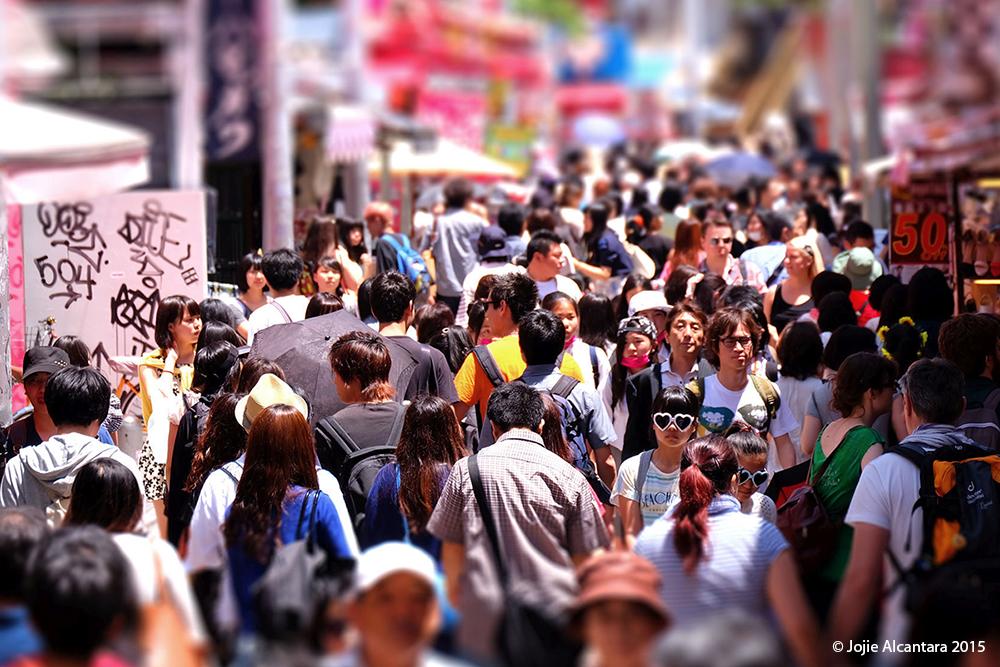 Takeshita Shopping Street by Jojie Alcantara