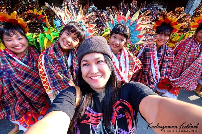 selfie in Kadayawan