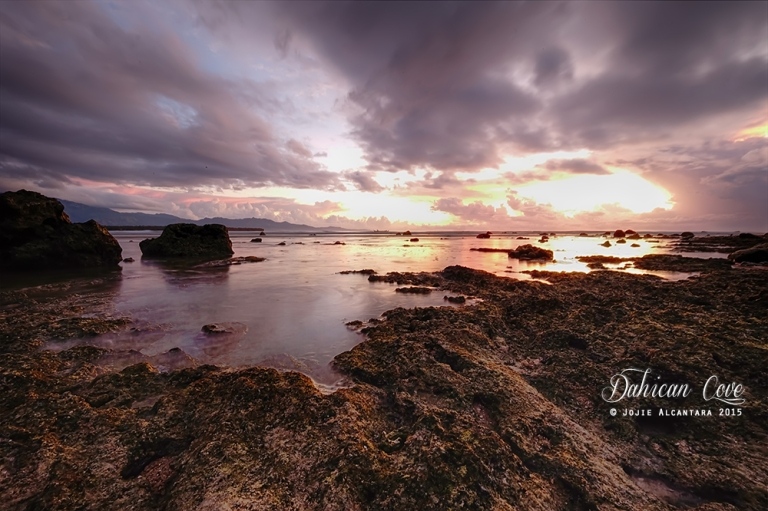 Dahican Cove at sunrise © Jojie Alcantara