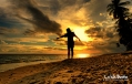 Sunset in La Isla Bonita Talikud by Jojie Alcantara