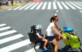 Family cycling by Jojie Alcantara 2
