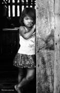 Kid in Talikud Island by Jojie Alcantara