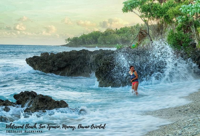 Whitesand Beach San Ignacio Davao Oriental by Jojie Alcantara