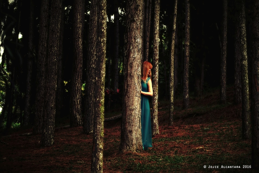 Maiden in the forest by Jojie Alcantara 2
