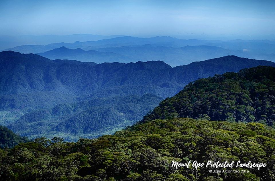 Mount Apo Protected Landscape from a chopper © Jojie Alcantara