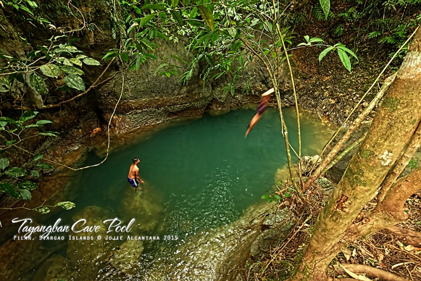 Tayangban Cave Pool, Siargao Islands © Jojie Alcantara