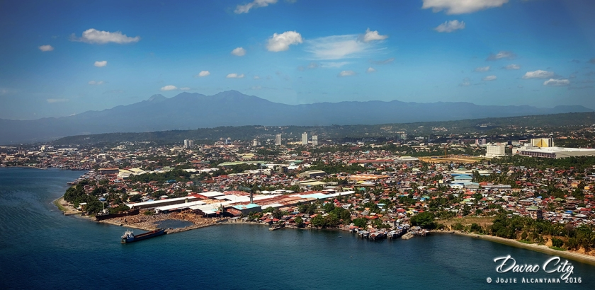Aerial photography of Davao by chopper © Jojie Alcantara