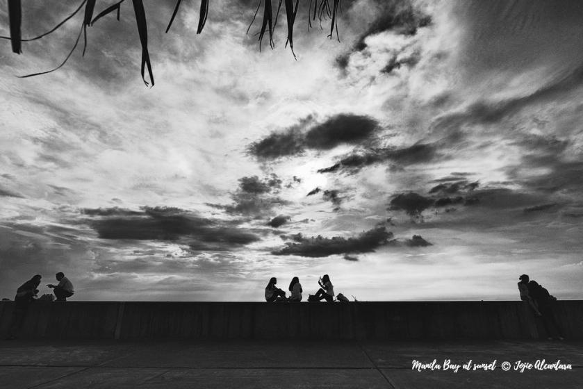 Manila Bay at sunset © Jojie Alcantara
