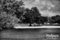 Malipano Island in black and white fine art photography © Jojie Alcantara
