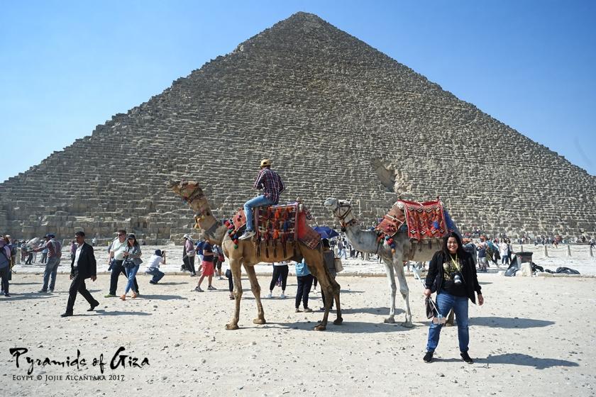 Jojie Alcantara in Giza Egypt