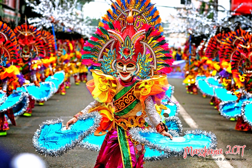 Masskara Festival 2017 in Bacolod City © Jojie Alcantara