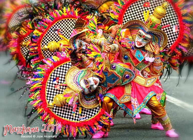 Masskara Festival 2017 in Bacolod City © Jojie Alcantara