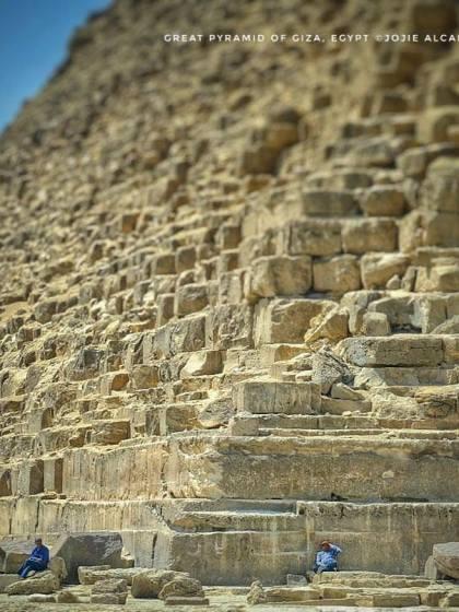 Pyramids of Giza, Egypt © Jojie Alcantara