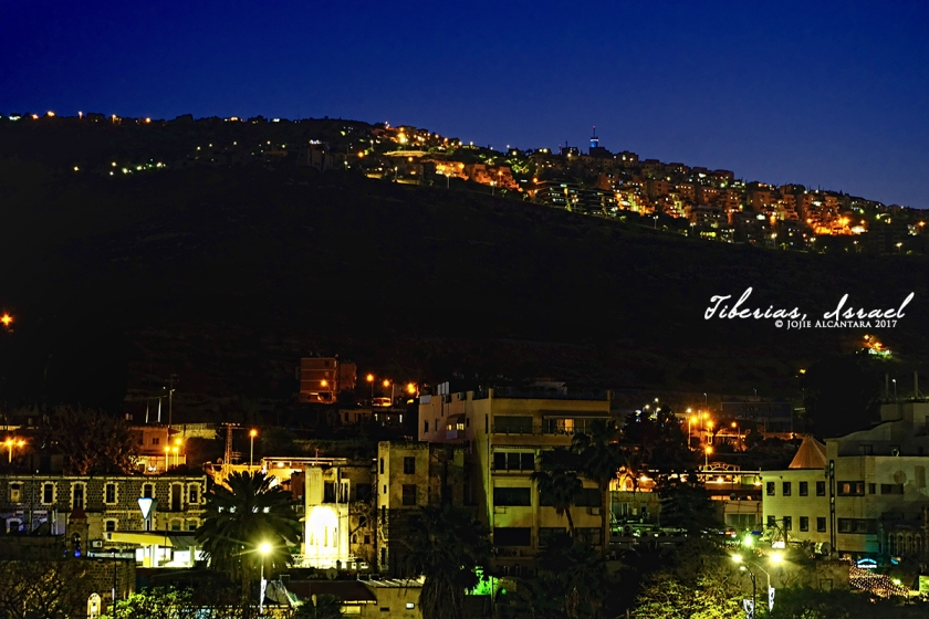 Tiberias at night © Jojie Alcantara