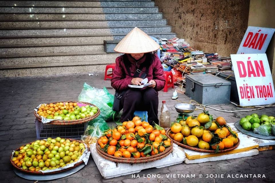 Market Vendor in Ha Long by Jojie Alcantara