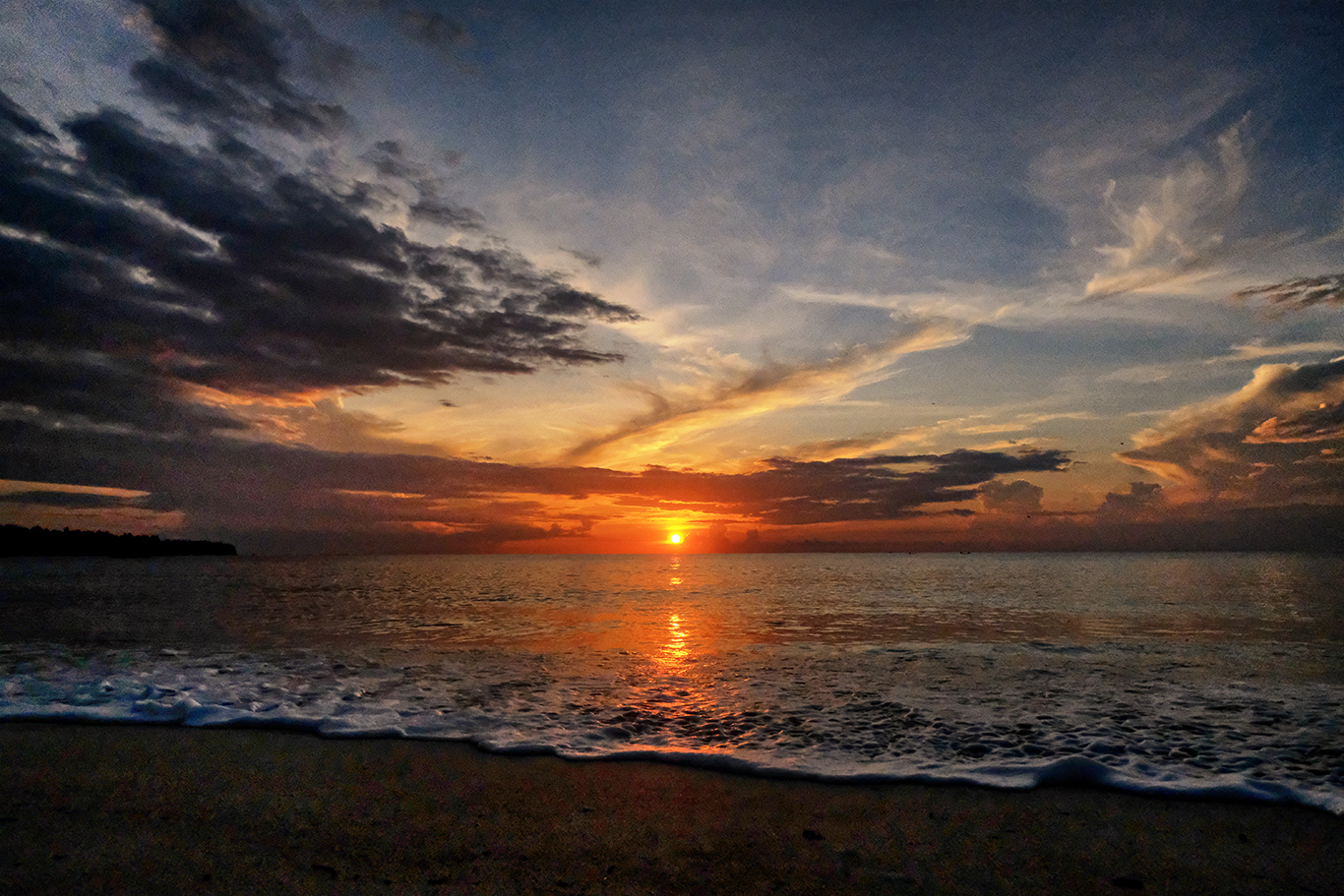Dahican at dawn